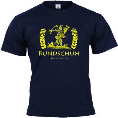 Bundschuh T-shirt blau