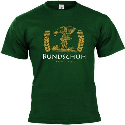 Bundschuh T-shirt grün