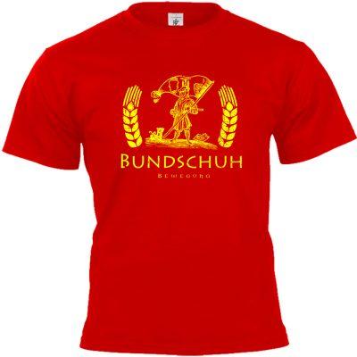 Bundschuh T-shirt rot