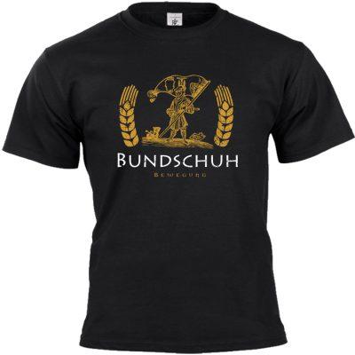 Bundschuh T-shirt schwarz