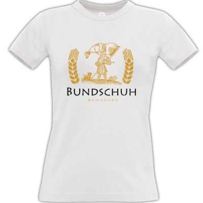 Bundschuh T-shirt weiss Frauen