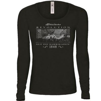 Deutsche Revolution 1848 Pullover Frauen