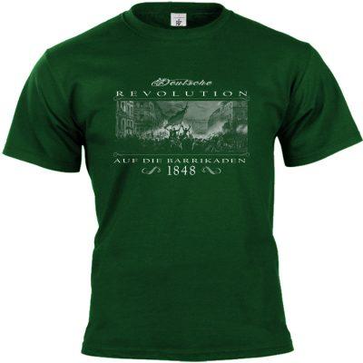 Deutsche Revolution 1848 T-shirt grün