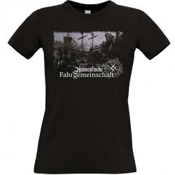 Hanse T-shirt schwarz Frauen