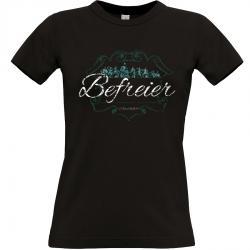 Hermann der Cherusker T-shirt schwarz Frauen