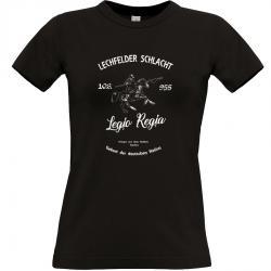 Lechfelder Schlacht T-shirt schwarz Frauen