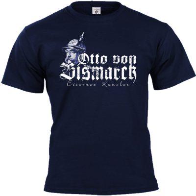 Otto von Bismarck T-shirt blau