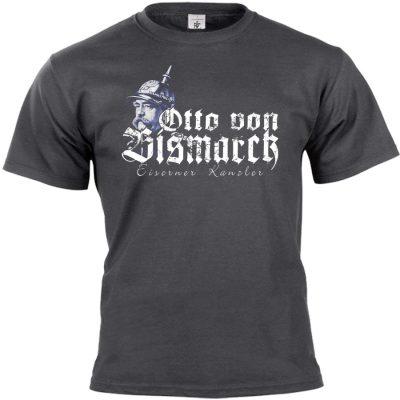 Otto von Bismarck T-shirt dunkelgrau