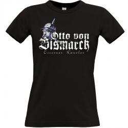Otto von Bismarck T-shirt schwarz Frauen