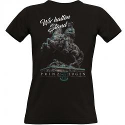 Prinz Eugen T-shirt schwarz Frauen hinten