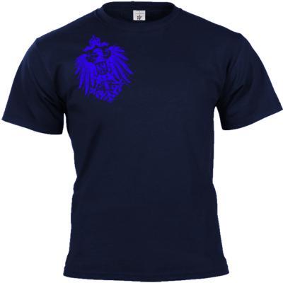 Reichsadler 1888 T-shirt blau