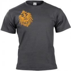 Reichsadler 1888 T-shirt dunkelgrau