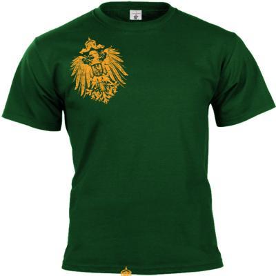 Reichsadler 1888 T-shirt grün