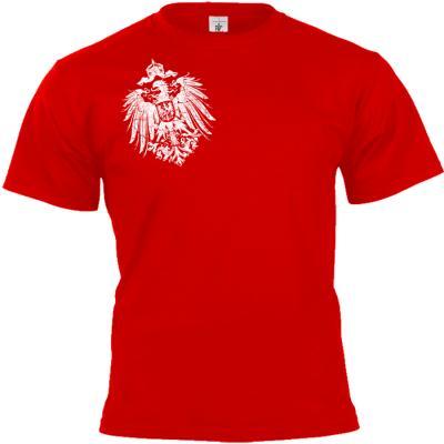 Reichsadler 1888 T-shirt rot