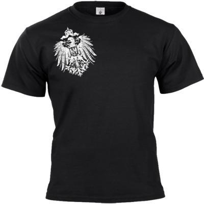 Reichsadler 1888 T-shirt schwarz