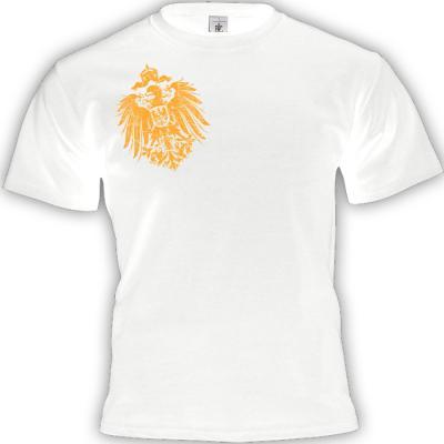 Reichsadler 1888 T-shirt weiss