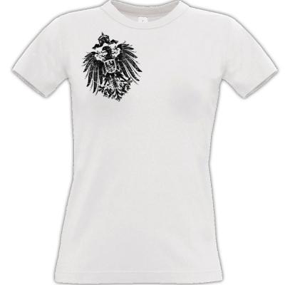 Reichsadler 1888 T-shirt weiss Frauen