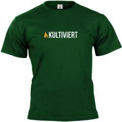 kultiviert Flamme T-shirt